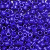 Miyuki Delica Seed Beads 11/0 Opaque Dk Blue DB726 7.2 Grammes