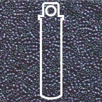 Matte Metallic Blue Green Gold (Db1052) Delica Myiuki 11/0 Seed Bead 7.2 Gramme Tube Approx 1400 Beads