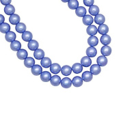 1 Strand Pastel Blue Glass Pearl Spacer Round Loose Beads Fit Necklace Bracelets Wholesale 4x4x4mm 200pcs GP0001-18