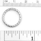 Chainology 100 Percent Rhodium Plated Rings #22