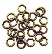 "SNAPEEZ® ""The Snapping Jump Ring"" - SNAPEEZ® II ULTRAPLATE® 24 kt. Russian Gold Ring Hard Open Jump 10mm Heavy Gauge"