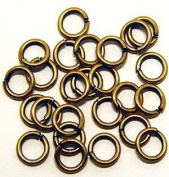 "SNAPEEZ® ""The Snapping Jump Ring"" - SNAPEEZ® II ULTRAPLATE® 24 kt. Russian Gold Ring Hard Open Jump 12mm Heavy Gauge"