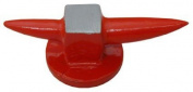 APT-TJ8981 Jeweller's Bright Red Double Horn Mini Anvil Solid Steel 13cm
