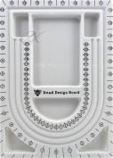 Bead Board Flocked 23cm x 33cm Quick & Easy Jewellery Creations Bracelets Necklaces