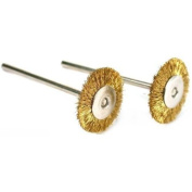 2 Brass Wire Wheel Brushes Polishing Tools fits For For For For For For For For Dremel