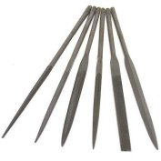 6 #2 Needle Files Metal Filing Jewellery Making Tools
