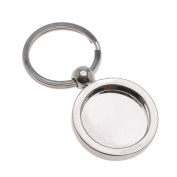 Aanraku Key Chain With 25mm Bezel For Resin And Glass Domes