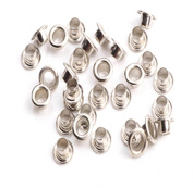 100pc Round Eyelet Stamp Card Hole Fit Beads Apparel Scrapbook Making Tool 4mm