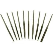 10 Needle Files Jewellers Watchmakers Metal Filing Tool