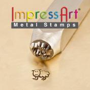 ImpressArt- 6mm, Fluffy Design Stamp