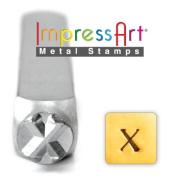 ImpressArt- 6mm, Chi Greek Letter Stamp