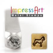 ImpressArt- 6mm, Boxer Metal Stamp