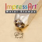 ImpressArt- 6mm, Oinky Design Stamp