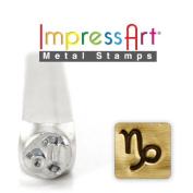 ImpressArt- 6mm, Capricorn Metal Stamp