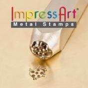 ImpressArt- 6mm, Lady Bug Design Stamp
