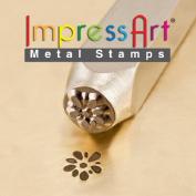 ImpressArt- 6mm, Gardenia Design Stamp