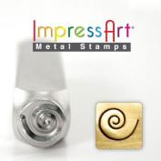 ImpressArt- 9.5mm, Swirl Design Stamp