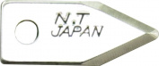 NT Cutter Blades for Heavy-Duty Circle Cutter and Large Circle Cutter, 2-Blade per Pack