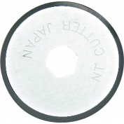 NT Cutter 18mm Rotary Blades for Fabric Circle Cutter, 2-Blade/Pack, 1 Pack