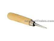 Straight Blade Burnisher, 2.5cm - 1.3cm blade
