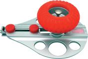 NT Cutter Aluminium Die-Cast Body Heavy-Duty Circle Cutter, 3cm 26cm Diameter, 1 Cutter
