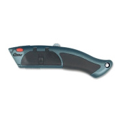 Wholesale CASE of 15 - Acme Auto-load Utility Knife-Auto-Load Utility Knife, w/ Rubber Grip, 10-Blade Chamber