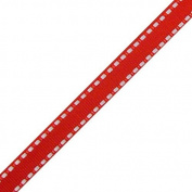 Red Dash Ribbon | 25 Yds