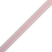 Pink Dash Ribbon | 25 Yds