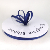 0.6cm Navy Blue Grosgrain Ribbon 50 Yards Spool Solid Colour.