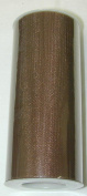 15cm X 25 Yard Roll of Brown Tulle Fabric