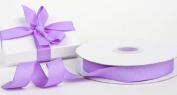 1.6cm Wide Lavender or Light Purple Grosgrain Ribbon - 25 Yards Roll