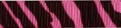 Venus Ribbon V16060-0Y9 1.6cm Zebra Grosgrain Ribbon