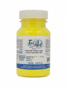Tri-Art High Viscosity Paint, 120ml, Light Bismuth Yellow