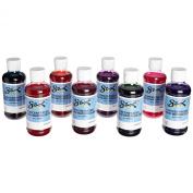Sax Concentrate Washable Liquid Watercolour Paints - 240ml - Set of 8 - Assorted Colours