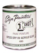 1-Shot Speed Dry UV Acrylic Clear 950ml