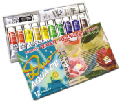 Holbein Duo Aqua Water-Soluble Oil Colour AP Set of 12 20 ml Tubes