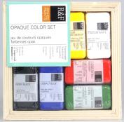 R & F Encaustic Paints Opaque Colours, Set of 6