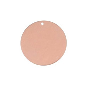 Solid Copper Stamping Round Blank Disc Tag Pendant 19mm