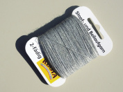 Regia Darning Thread 5 Gramme Card - Light Grey
