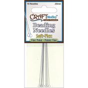 Soft-Flex Beading Needles Fine Point .23mm 10/Pkg-