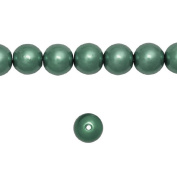 1 Strand Dark Green Glass Pearl Spacer Round Loose Beads Fit Necklace Bracelets Wholesale 6x6x6mm 150pcs GP0002-22