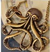 Pirates of the Caribbean Octopus Necklace,retro Necklace
