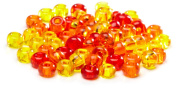 Beaders Paradise LT6EMIX133 Czech Glass Sunset Mix 6/0 E-Beads in a Tube