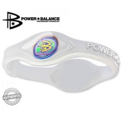 Power Balance Performance Technology Bracelet in (Clear/White Lettering) Size