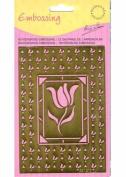 Ecstasy Crafts Tulip Embossing Stencil
