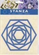 Ecstasy Crafts Stanza Template - Hexagon