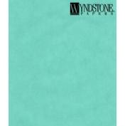 WYN coloured Vellum Turquoise 19X25