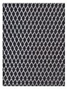 Amaco WireForm Metal Mesh aluminium woven diamond mesh - 0.6cm . pattern mini-pack [PACK OF 2 ]