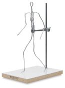 Sculpture House Almaloy Wire Formica Bases full figure 38cm .