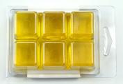 Stained Glass Lemon Soap Colour Bar